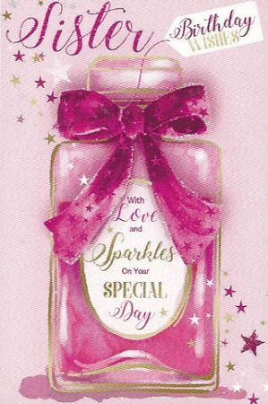 Simon Elvin Greetings Large Birthday Cards Sister Wgc 75fr313