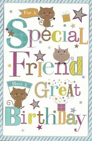 Simon Elvin Greetings Large Birthday Cards Special Friend