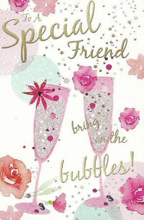 Large Birthday Cards Special Friend Wgc 75gb301 Female Relations