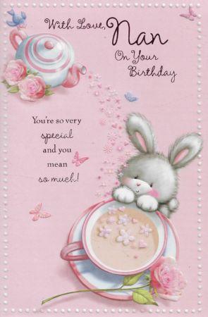 Simon Elvin Large Birthday Cards Nan