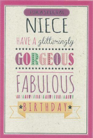 Simon Elvin Birthday Cards Niece Wgc Se24051 Female Relations