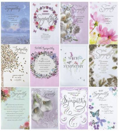 72 Simon Elvin Sympathy Cards Box Of